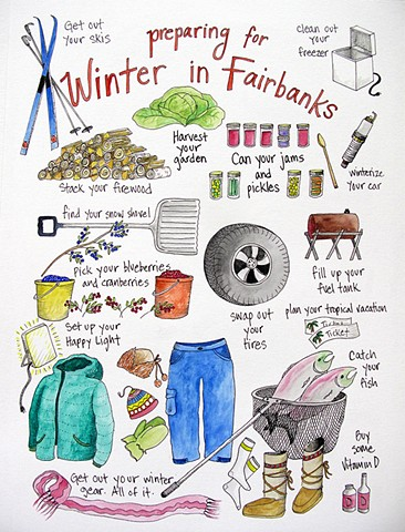 Preparing For Winter in Fairbanks