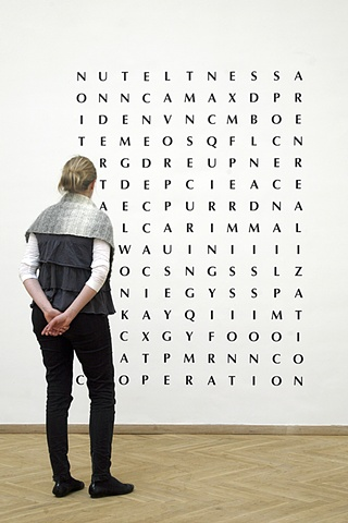 """24 Synonyms for Acceptance"" (Kunsthal Charlottenborg)"