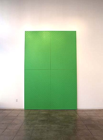 Gate is part of LESS, an interactive painting installation, at Froelick Gallery, Portland, OR