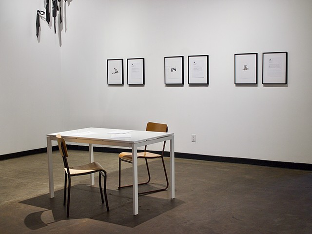 Orphan Well Portraits and Letters to Caretakers, Installation View, Latitude 53