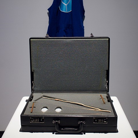 Dowser's Uniform and Tools Installation View, Latitude 53
