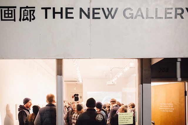 The New Gallery + M:ST Performative Art Festival   Reception and discussion with sophia bartholomew at The New Gallery