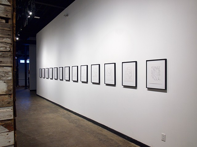 Inner End (Service Roads), Installation View, Latitude 53