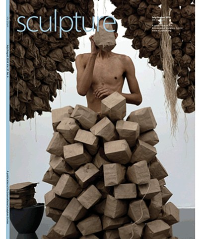 Sculpture Magazine Review of In Blood In Bone