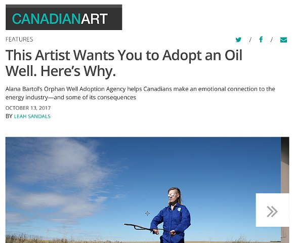 Canadian Art Interview