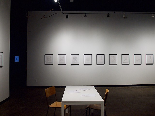 Installation View, Latitude 53