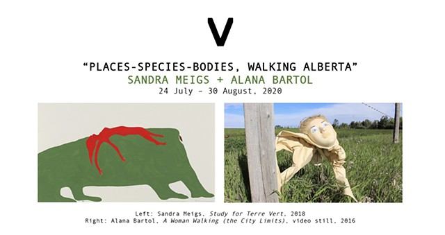 2-Person Exhibition with Sandra Meigs at VivianeArt