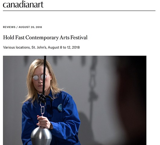 Review: HOLD FAST Contemporary Art Festival