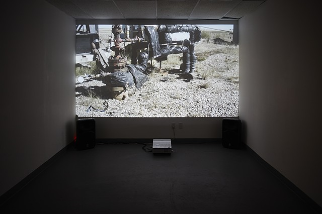 Installation View of TOTAL FIELD at TRUCK Contemporary Art's Parkade Gallery