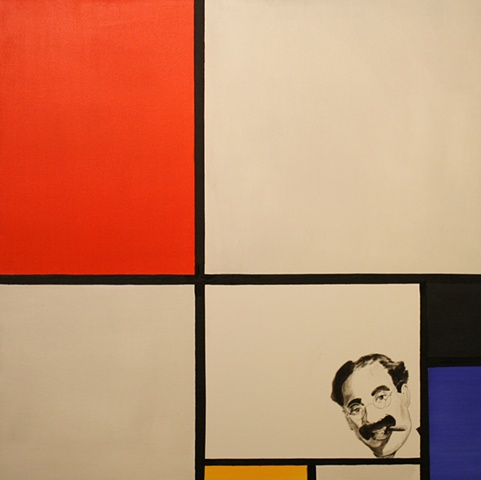 Groucho meets Piet Mondrian--with hilarious results!