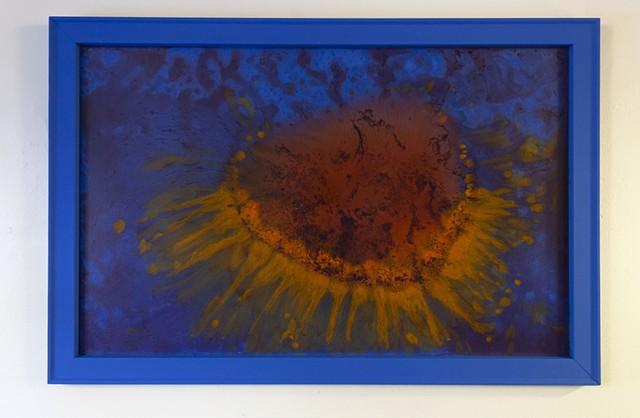 Blue Frame Series B, No. 3