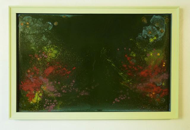 Green Frame Series A, No. 4
