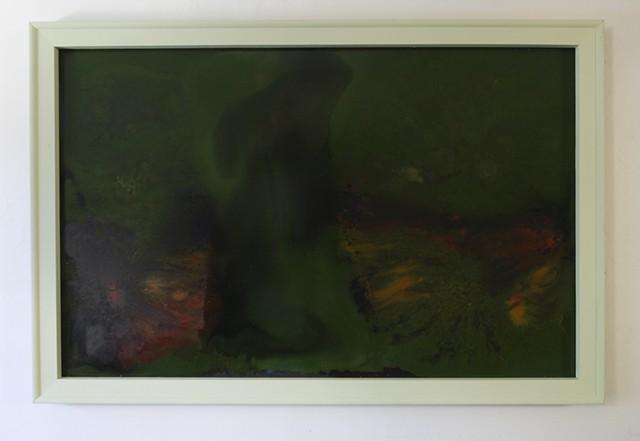 Green Frame Series A, No. 3 (Anima)
