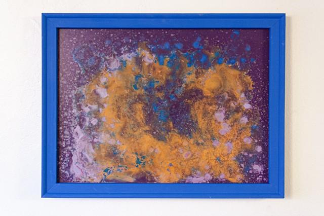 Blue Frame Series A, No. 2