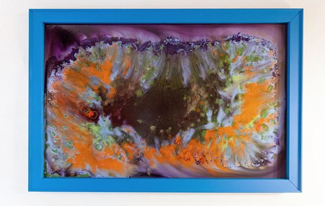 Blue Frame Series B, No. 2