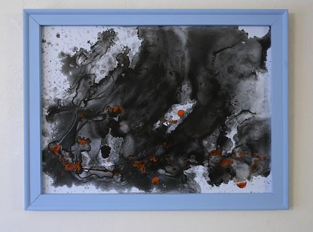 Blue Frame Series C, No. 1