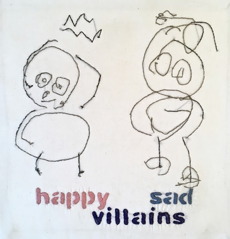 One Day I Gave A Pen To A Three Year Old Happy and Sad Villains