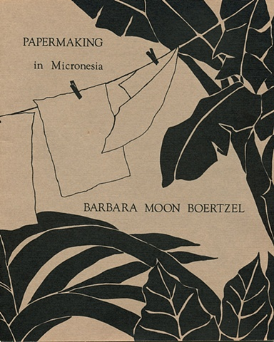 Papermaking in Micronesia, Book