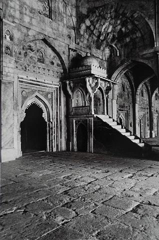 Mosque podium