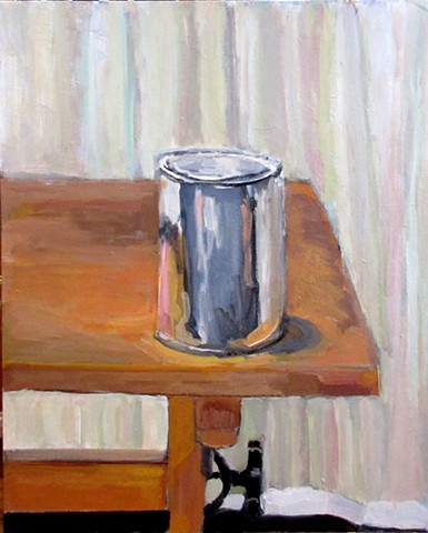 Paint Can on Drafting Table