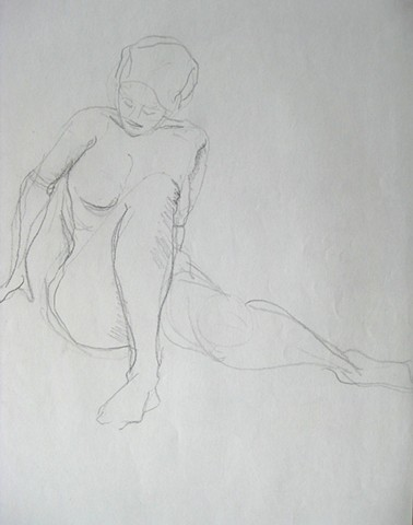 Quick Sketch: Figure Sitting
