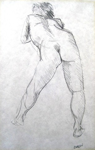 Female Study from Rear