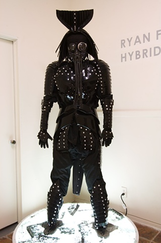 """Samurai 1"" Sculpture by Ryan Farrell"