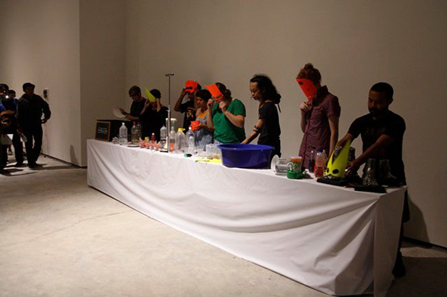 The Long Table Experiment - performance