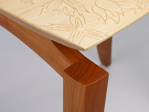 Lily Chair (leg detail)