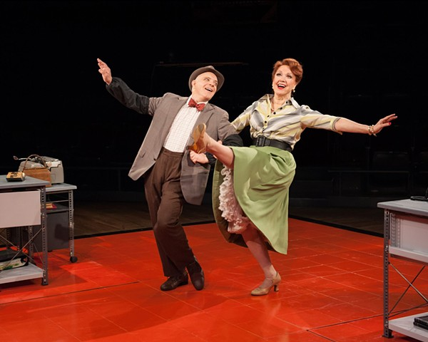 THE PAJAMA GAME Arena Stage Alejo Vietti, Costume Designer Alan Paul, Director Theresa Wood Photography