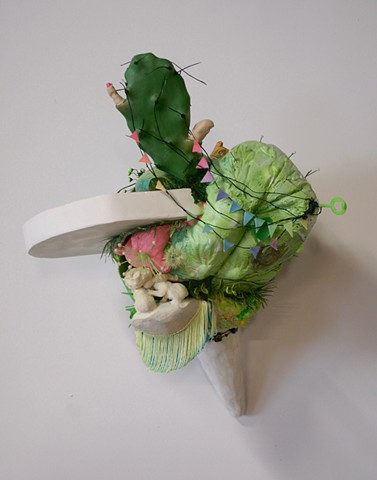 Lauren Carter, sculpture, chicago artist, mixed media, art