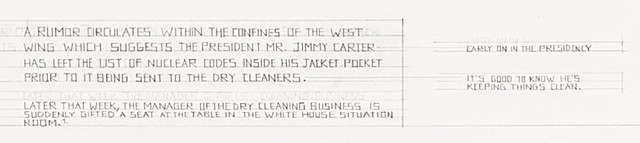 Mr. Jimmy Carter's Inclusiveness (detail)