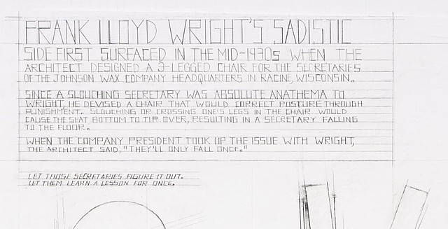 Frank Lloyd Wright's Sadistic Side (detail)
