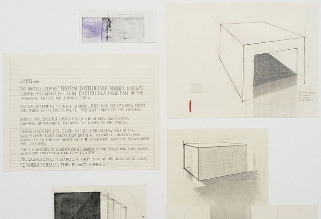 CIA Failed Assassination Attempt on Mr. Fidel Castro #12 (Mr. Donald Judd) (detail)