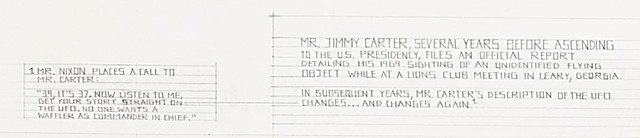 Mr. Jimmy Carter's UFO Experience (detail)