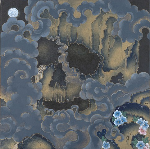 Crazy Cloud Skull Ikkyu