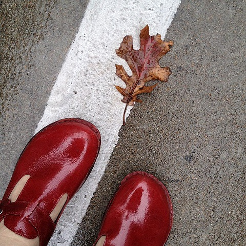 Cute Red Shoes, Houston, Texas  2012
