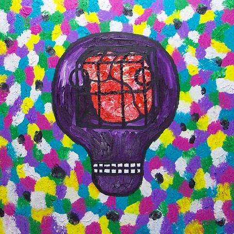 Caged Mind Violet