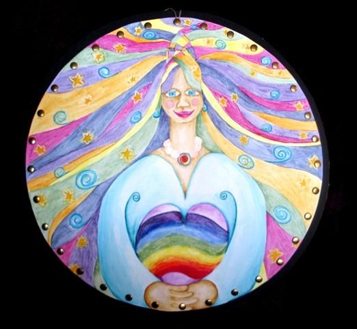 Woman Flow Mandala