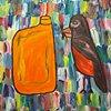 Stubborn Bird Orange