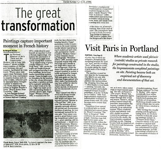 Paris in Portland ME - The Portsmouth Herald (NH)