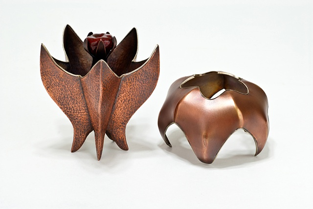 score and fold, copper pod