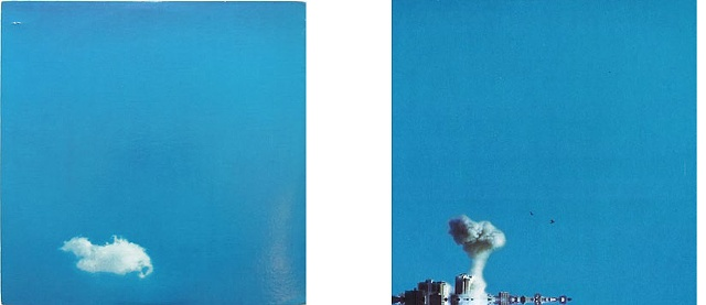 Covers of LIVE PEACE IN TORONTO 1969 and LIVE IN JERUSALEM 2010