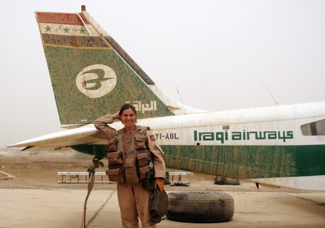 U.S. Air Force Staff Sgt. Cherie Thurlby