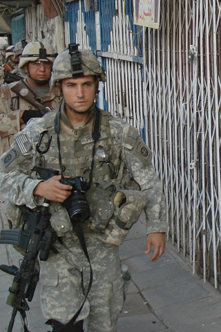 U.S. Army Staff Sgt. Mike Pryor