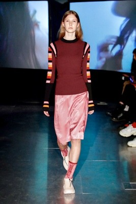 Socks included in the FallWinterSpringSummer Runway Show