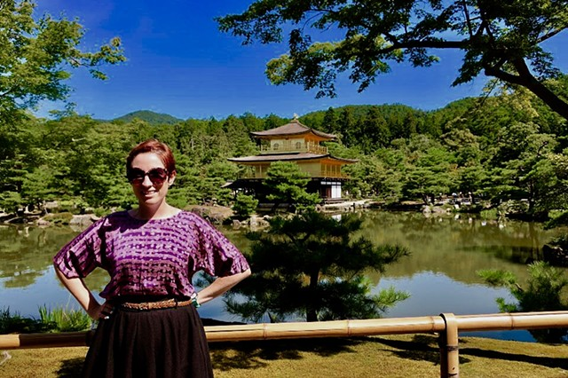 Katie's Silk Blouse in Japan