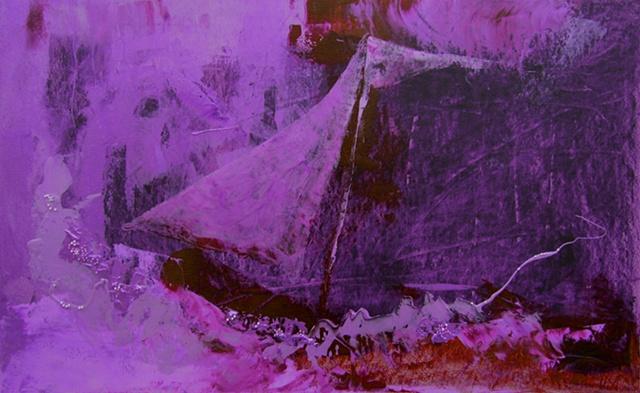 i dream purple - you dream sail boat
