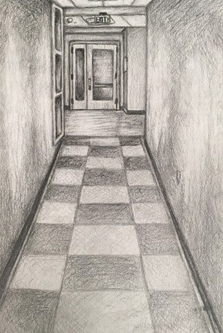 Drawing 1: Architectural One-Point Perspective