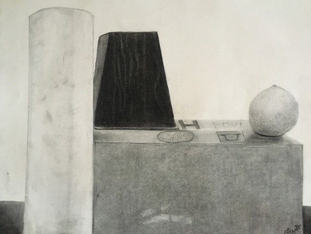 Drawing 1: Object Study, Still-Life